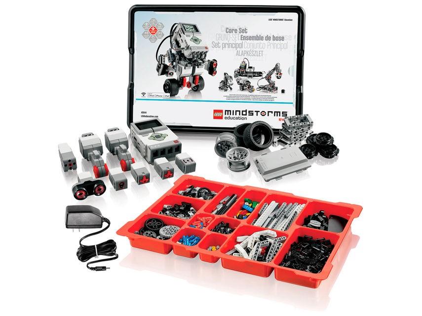 1. ábra: LEGO Mindstorms EV3 Education alapcsomag [1]